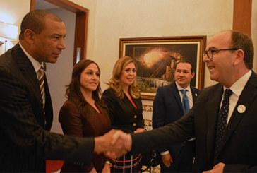 M. Benchamach s'entretient avec des parlementaires de l'Amérique centrale, des Caraïbes, du Guatemala et de la Dominique