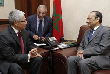 M. El Malki s'entretient avec les ambassadeurs du Pérou, de la Serbie et de l'Ethiopie