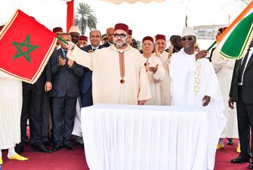 SM le Roi et le président de la République de Côte d'Ivoire lancent les travaux de construction de la mosquée «Mohammed VI» à Abidjan