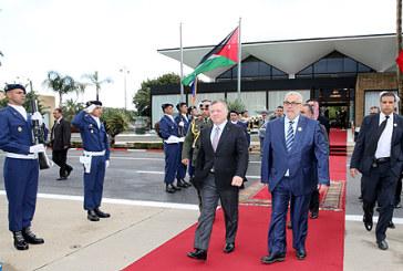 Vidéo. Le Souverain du Royaume Hachémite de Jordanie quitte Rabat au terme d'une visite officielle au Maroc