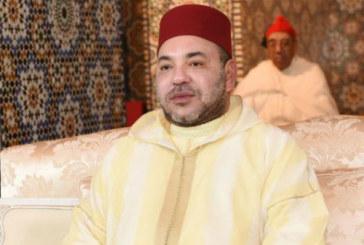 SM le Roi, Amir Al Mouminine, et le président de la République de Côte d'Ivoire accomplissent la prière du Vendredi à la Grande Mosquée Riviera Golf à Abidjan