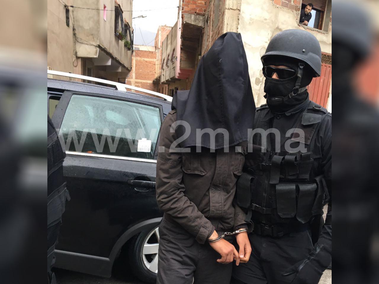 Mise hors d'état de nuire de trois dangereux terroristes à Tétouan