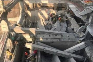 Mexique: au moins sept morts dans l'effondrement d'un parking en construction