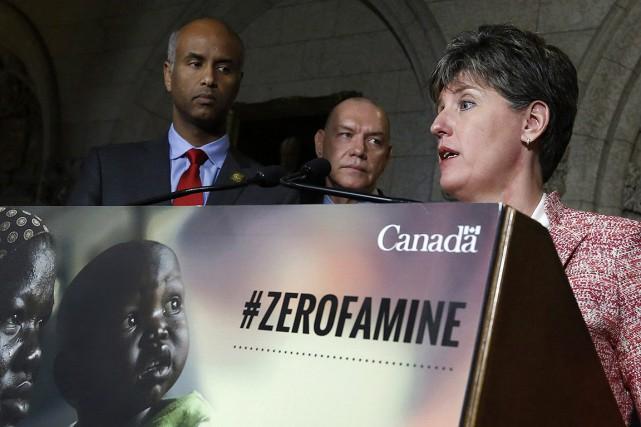 Le Canada crée un Fonds de secours contre la famine