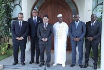 CEDEAO, Union Africaine:  Le Président Ouattara  reçoit deux émissaires de S.M le Roi Mohammed VI