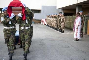 Obsèques à Tazarine du militaire du contingent des FAR de la MINUSCA décédé en Centrafrique