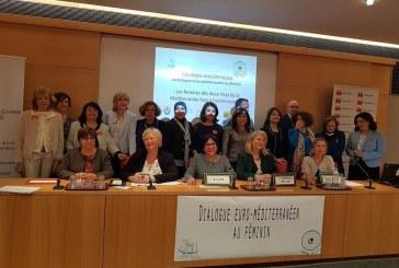 Colloque au Sénat à Paris « Les femmes des deux rives de la Méditerranée face à l'extrémisme »