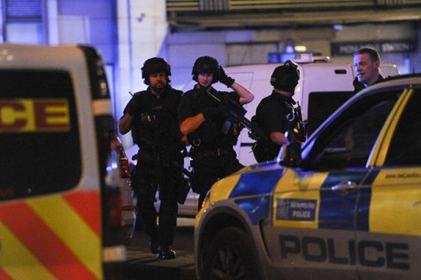 lieu de l'attaque sur London Bridge, samedi soir. AFP