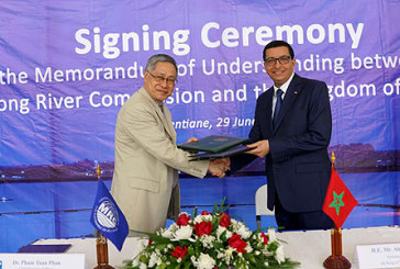 Le Maroc, premier pays arabe et africain à obtenir le Statut de partenaire de la Mékong River Commission