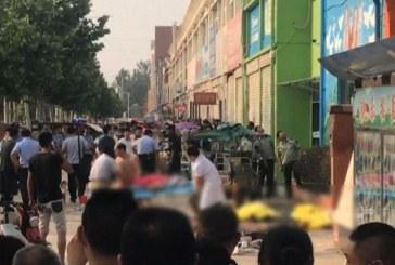 Une bombe artisanale à l'origine de l'explosion en Chine, l'auteur tué