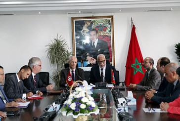 Le renforcement de la coopération dans le domaine de l'emploi et la formation professionnelle au centre d'entretiens maroco-tunisiens