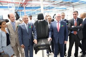 Le groupe Faurecia ouvre sa nouvelle usine à Salé