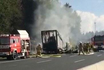 Accident de car en Allemagne: la police redoute jusqu'à 18 morts