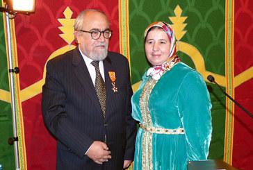 L'ancien ambassadeur du Chili au Maroc décoré du Wissam Alaouite de l'Ordre de Grand Officier