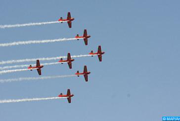 Fête du Trône : Les Forces Royales Air organisent des shows aériens  au large des plages de Tanger et M'diq