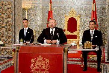 Vidéo : S.M. le Roi adresse un discours à la Nation à l'occasion de la Fête du Trône