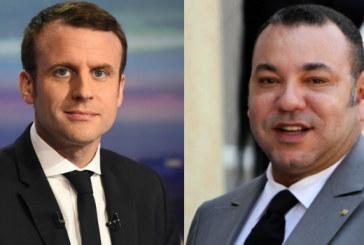 Le Président français félicite SM le Roi à l'occasion de la Fête du Trône