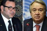 Fête du Trône: Le Secrétaire général de l'ONU félicite SM le Roi