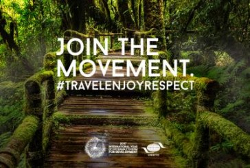 """Tourisme durable: lancement de la campagne de l'OMT """"Voyage. Apprécie. Respecte"""""""