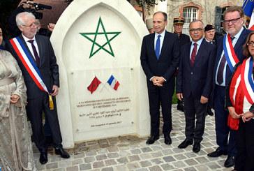 Chauconin-Neufmontiers : Une stèle en hommage aux combattants marocains