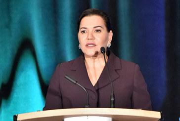 SAR la Princesse Lalla Hasnaa prononce à Vancouver un discours devant le 9ème Congrès mondial de l'éducation à l'environnement