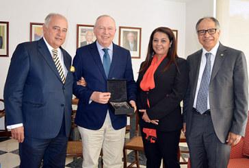 M. Guerraoui et le président du Conseil économique et social du Portugal s'entretiennent à Lisbonne