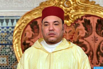SM le Roi, Amir Al Mouminine accomplit la prière du vendredi à la mosquée Hassan à Rabat