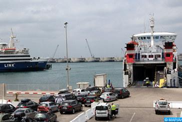 "Opération ""Marhaba 2017"": Environ 1,34 million MRE ont transité via Tanger Med au 6 septembre"