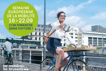 Journée sans voiture à Bruxelles, événement phare de la Semaine européenne de la mobilité