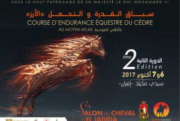 Le Salon du Cheval d'El Jadida organise la seconde édition de la Course d'Endurance Équestre du Cèdre au Moyen-Atlas