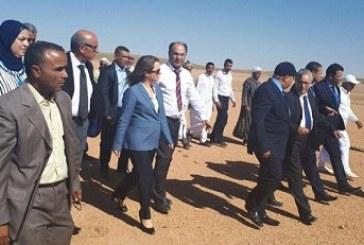 Mme Afailal à Boulemane pour s'enquérir de la situation hydrique dans la province