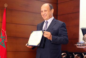 M. Ahizoune reçoit le Prix de reconnaissance de la culture amazighe au titre l'année 2016