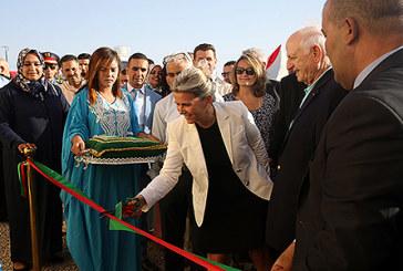 """Essaouira : Inauguration du projet """"village solaire d'Idmjahdi"""" dans la commune d'Ounagha"""