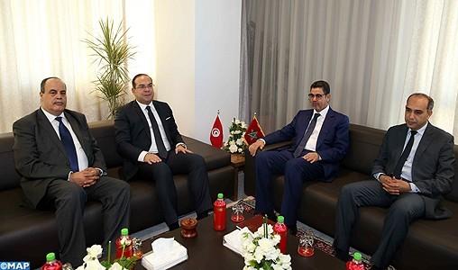Le renforcement de la coopération judiciaire au centre d'entretiens entre le procureur général et le ministre tunisien