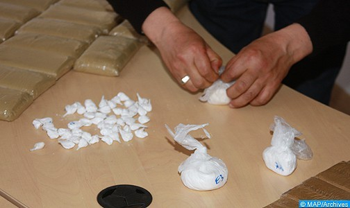 Aéroport Mohammed V de Casablanca: Saisie de 190 g de cocaïne