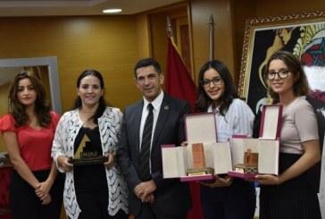 """Prix de la meilleure junior entreprise 2017 : L'équipe féminine """"Titrite"""" de l'UM5-Rabat remporte le Prix national"""