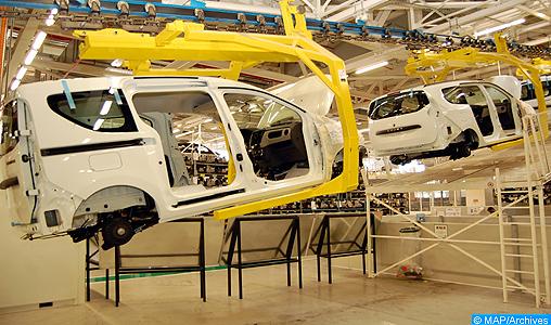 """L'industrie automobile au Maroc, un secteur """"solide"""", """"structuré"""" et """"prometteur"""""""