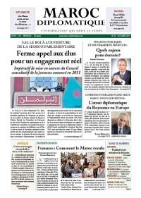 Le numéro 21 de Maroc diplomatique est  dans les kiosques