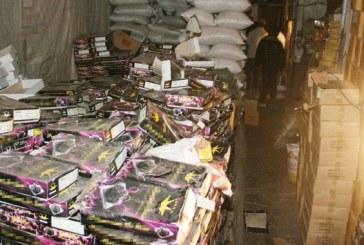 Saisie et destruction de 186 tonnes de produits impropres à la consommation en septembre dernier