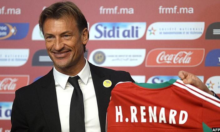 Hervé Renard, deuxième entraîneur français à conduire les Lions de l'Atlas à une Coupe du monde