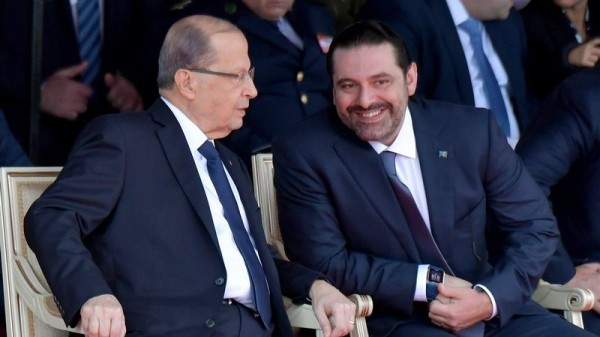 Liban: Hariri met en suspens sa démission à la demande du président Michel Aoun