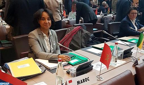 Mme Boucetta appelle à la mobilisation au sein de l'OIF pour faire des défis de développement durable des opportunités réelles de croissance