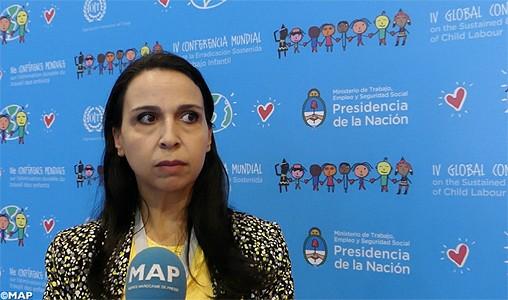 L'expérience marocaine en matière de protection de l'enfance mise en relief lors d'une conférence mondiale à Buenos Aires