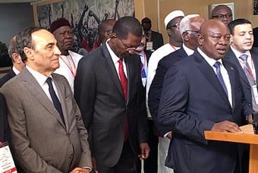 M. El Malki à la 40ème Conférence des présidents des Parlements de l'UPA à Ouagadougou