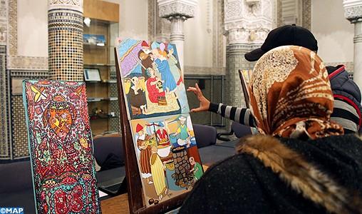 """Exposition de photos historiques sous le titre """"La lutte du Roi Mohammed V pour l'édification du Maroc de l'avenir"""""""