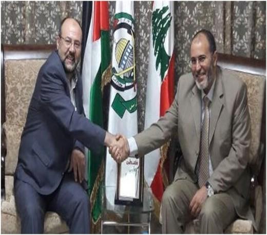 Hamdaoui de la Jamâa reçu par Ali Baraka du Hamas