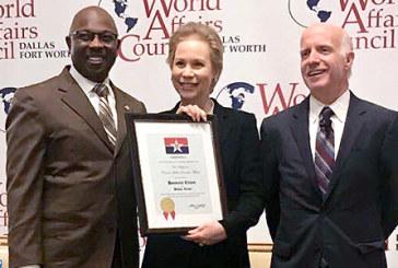 Lalla Joumala Alaoui faite Citoyenne d'honneur de la ville de Dallas