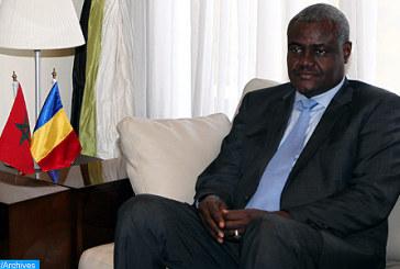 Le président de la Commission de l'UA en visite officielle de deux jours au Maroc