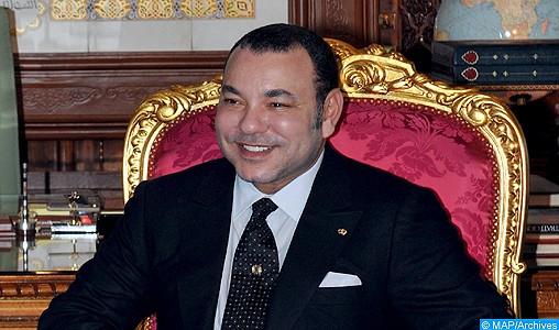 SM le Roi félicite le souverain de Thaïlande à l'occasion de la fête nationale de son pays
