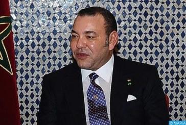 Message de félicitations de SM le Roi au président de la République du Suriname à l'occasion de la fête d'indépendance de son pays